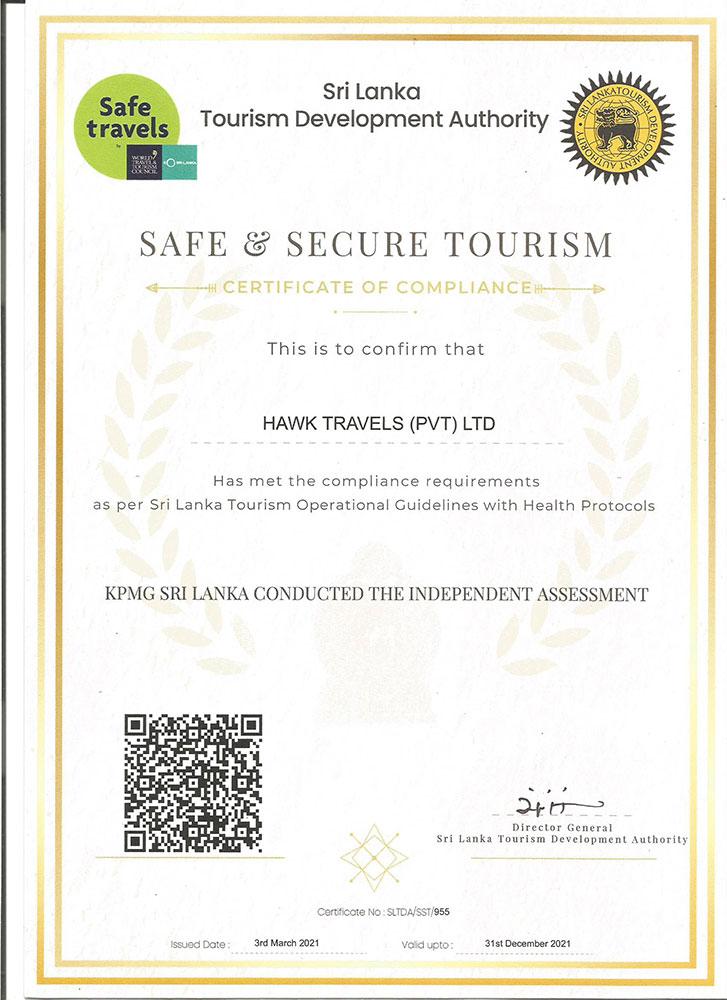 safe and secure tourism in sri lanka